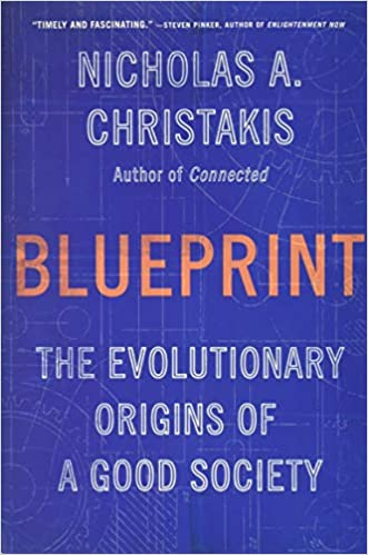 Gavin's Friday Reads: Blueprint by Nicholas A. Christakis