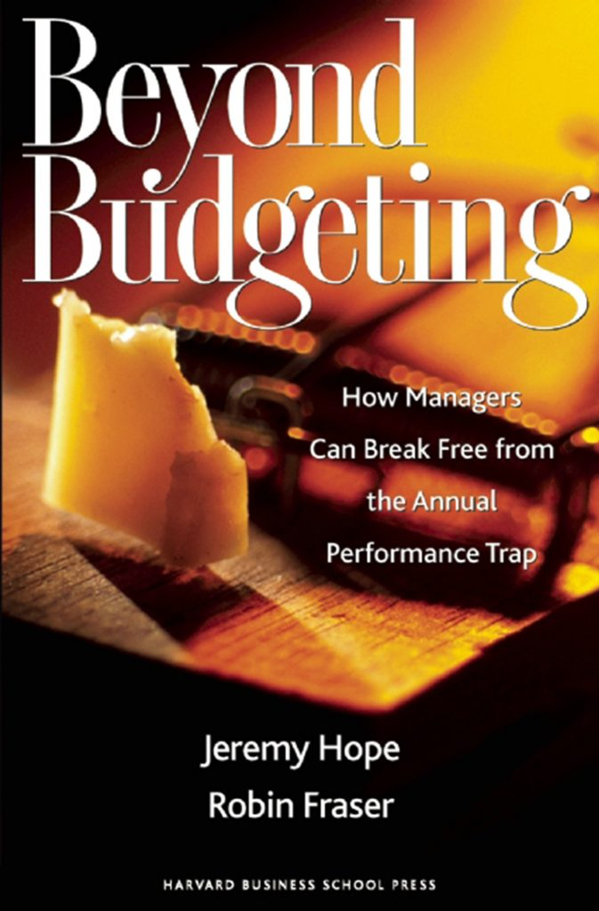 Gavin's Friday Reads: Beyond Budgeting by Jeremy Hope and Robin Fraser